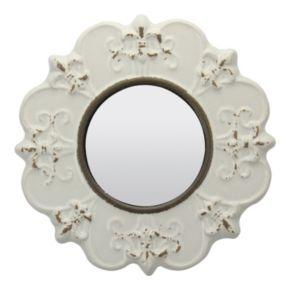 Stonebriar Collection Fleur-de-Lis Wall Mirror