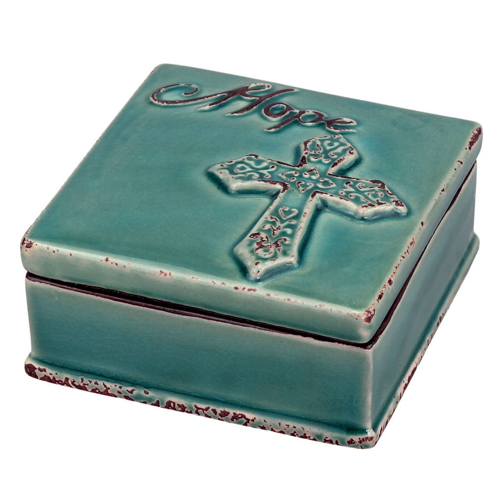 Stonebriar Collection ''Hope'' Ceramic Box
