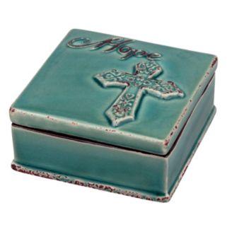 Stonebriar Collection ''Hope'' Ceramic Box