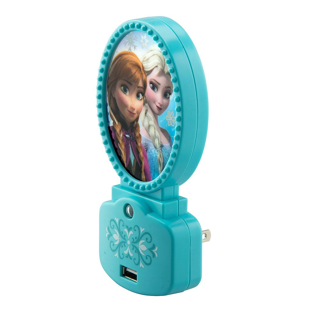 Disney's Frozen Glowlight Night Light & USB Charger