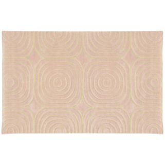 PANTONE UNIVERSE™ Optic Carved Geometric Wool Rug - 10' x 13'