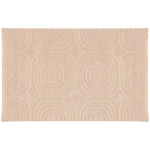 PANTONE UNIVERSE™ Optic Carved Geometric Wool Rug – 10′ x 13′