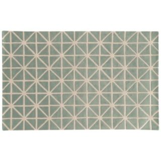 PANTONE UNIVERSE Optic Carved Diamond Gridwork Wool Rug