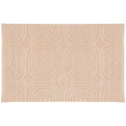 PANTONE UNIVERSE™ Optic Carved Geometric Wool Rug