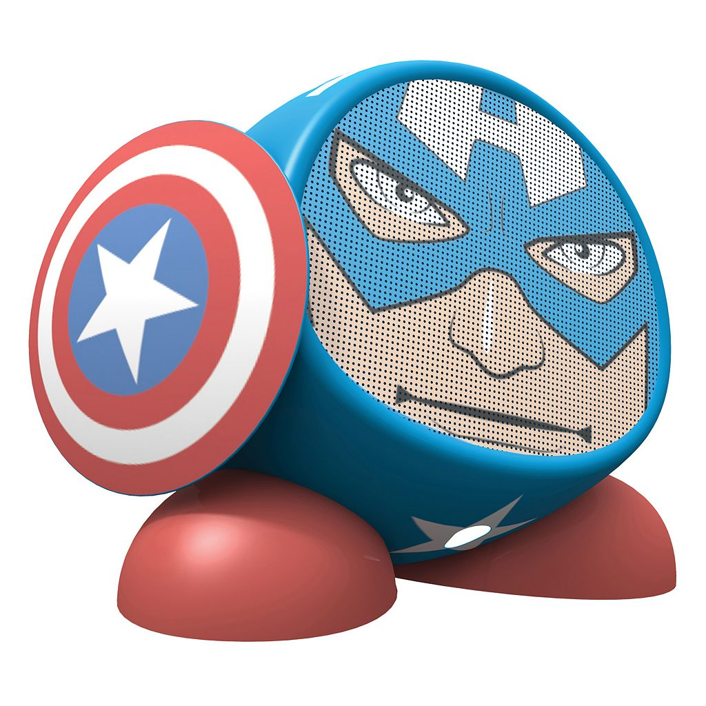 Marvel Captain America Rechargeable Bluetooth Speaker