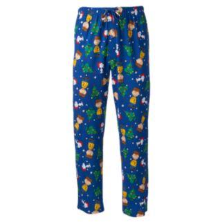 Peanuts Lounge Pants & Drink Koozie Set - Men