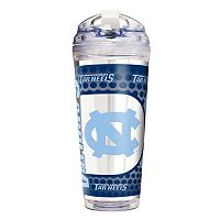 North Carolina Tar Heels Acrylic Tumbler With Metallic Wrap