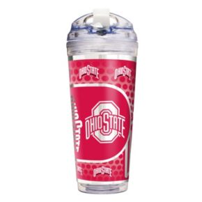 Ohio State Buckeyes Acrylic Tumbler With Metallic Wrap