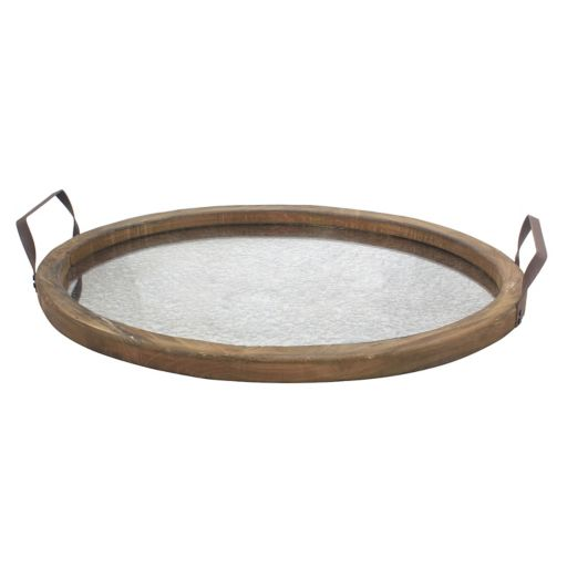 Stonebriar Collection Rustic Decorative Tray