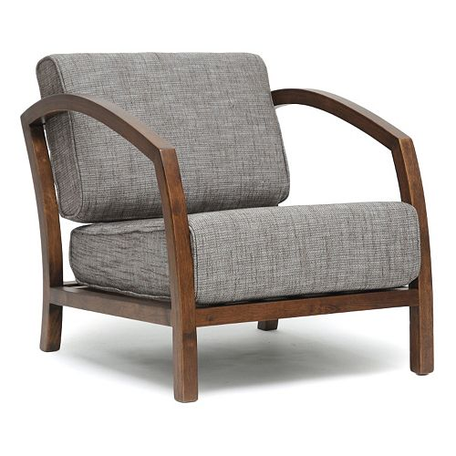 Baxton Studio Velda Modern Accent Chair