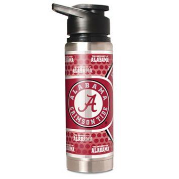 Alabama Crimson Tide Stainless Steel Water Bottle