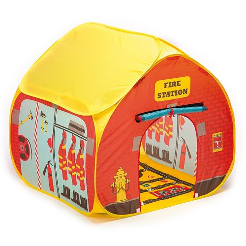 Fun2Give Pop-it-Up Firehouse Tent with Race Mat
