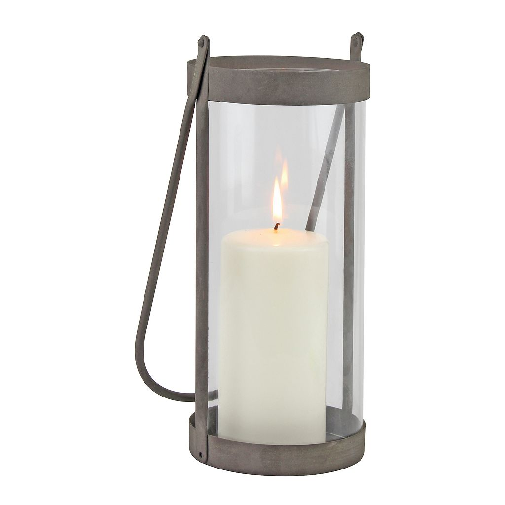 Stonebriar Collection Rustic Cylinder Lantern