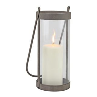 Stonebriar Collection Rustic Cylinder Lantern