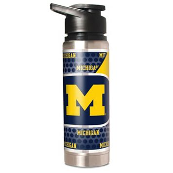 Michigan Wolverines 20-Ounce Stainless Steel Water Bottle