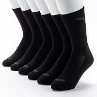 Men's PUMA 6-pack Performance Crew Socks