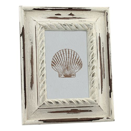 "Stonebriar Collection 4"" x 6"" Wood Coastal Frame"