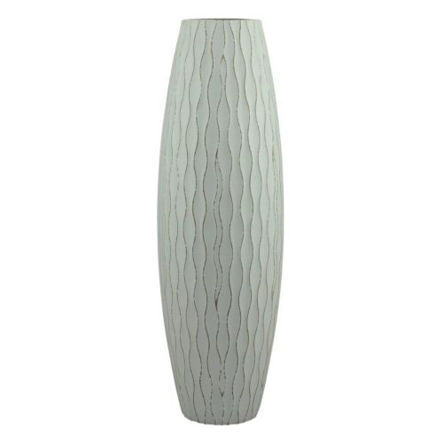Stonebriar Collection Large Weathered Wood Vase