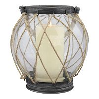 Stonebriar Collection Vintage Nautical Globe Lantern
