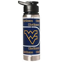 West Virginia Mountaineers Stainless Steel Water Bottle