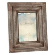 "Stonebriar Collection 4"" x 6"" Weathered Photo Frame"