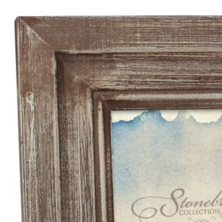 """Stonebriar Collection 4"""" x 6"""" Weathered Photo Frame"""