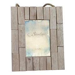 Stonebriar Collection 5' x 7' Driftwood Photo Frame