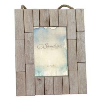 """Stonebriar Collection 5"""" x 7"""" Driftwood Photo Frame"""