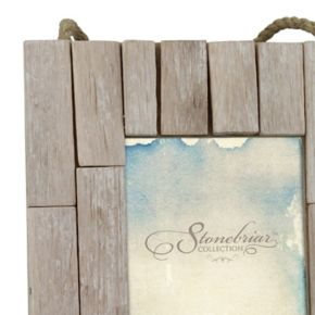 "Stonebriar Collection 5"" x 7"" Driftwood Photo Frame"