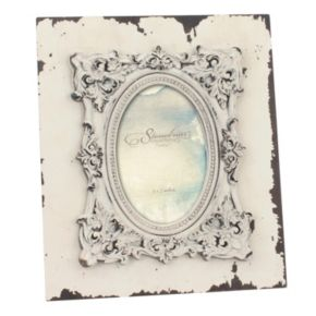 """Stonebriar Collection 4"""" x 6"""" Weathered Wood Frame"""