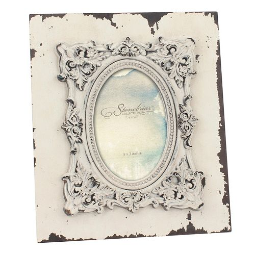 "Stonebriar Collection 4"" x 6"" Weathered Wood Frame"