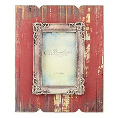 Stonebriar Collection 4' x 6' Weathered Red Wood Frame
