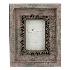 Stonebriar Collection 4' x 6'  Metal and Wood Frame