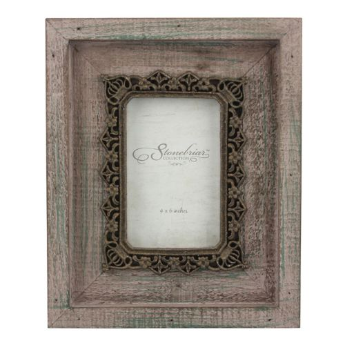 Stonebriar Collection 4 x 6  Metal and Wood Frame