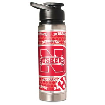 Nebraska Cornhuskers Stainless Steel Water Bottle