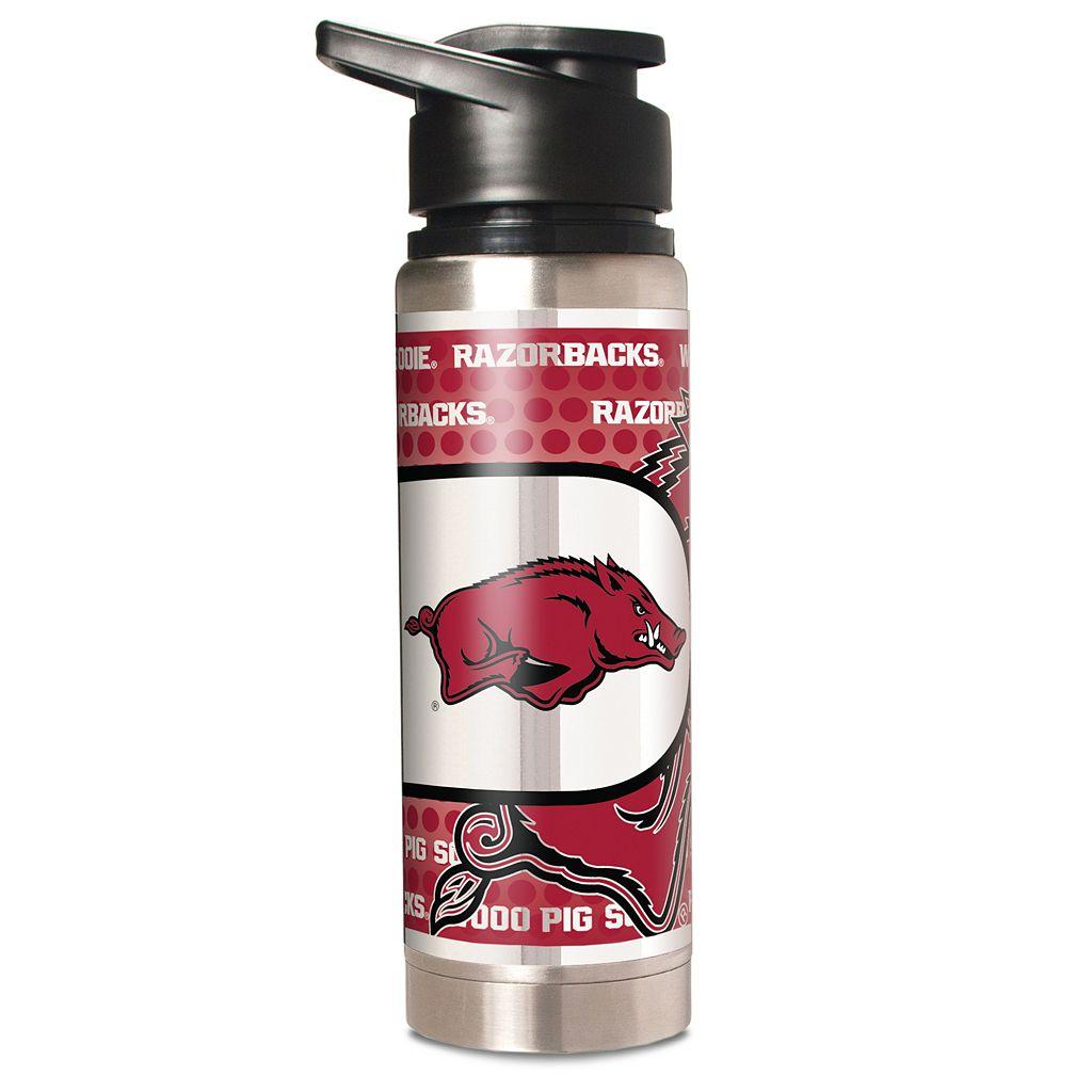 Arkansas Razorbacks Stainless Steel Water Bottle