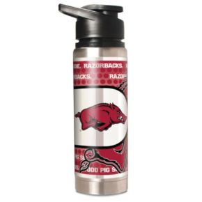 Arkansas Razorbacks Stainless Steel Water Bottle
