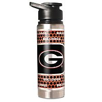 Georgia Bulldogs 20-Ounce Stainless Steel Water Bottle