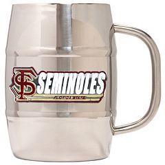 Florida State Seminoles Stainless Steel Barrel Mug