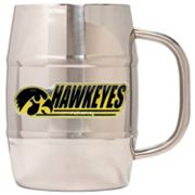 Iowa Hawkeyes Stainless Steel Barrel Mug