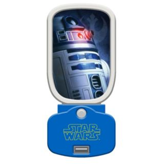 Star Wars R2D2 Glowlight Night Light & USB Charger