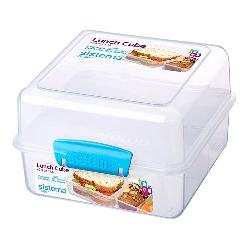 Sistema To Go Square Lunch Cube