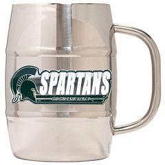 Michigan State Spartans Stainless Steel Barrel Mug