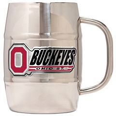 Ohio State Buckeyes Stainless Steel Barrel Mug