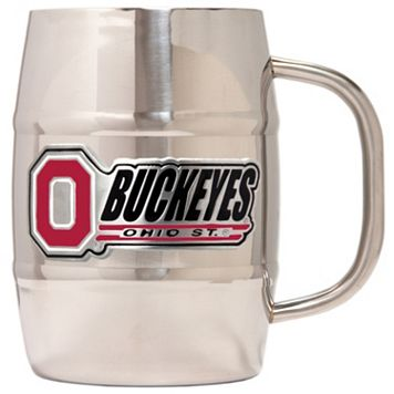 Ohio State Buckeyes Stainless Steel Barrel Mug