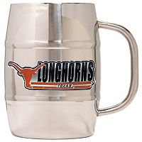 Texas Longhorns Stainless Steel Barrel Mug