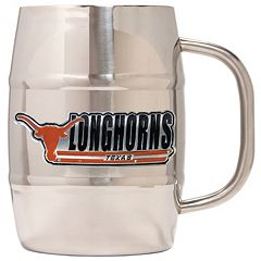 Texas Longhorns Stainless Steel Barrel Mug