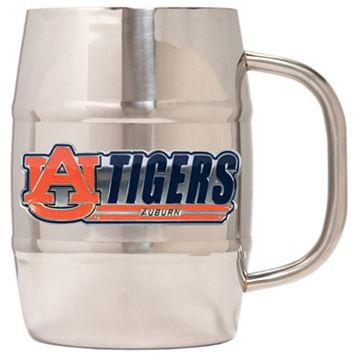 Auburn Tigers Stainless Steel Barrel Mug
