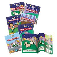Junior Learning Farming Rainbow Phonics Word City Early Reader Story Book