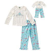 Dollie & Me Girls 4-14 Pajama Set